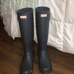 Grey Hunter boots!!